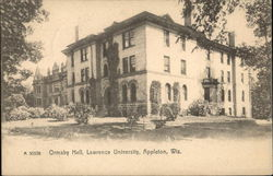 Ormsby Hall, lawrence University Postcard