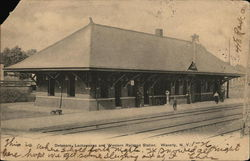 Delaware, Lackawanna and Western Railroad Station