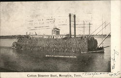 Cotton Steamer Boat