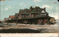 Lehigh Valley Rail Road Depot