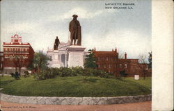 View of Lafayette Square