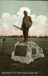 John L.Burns Statue, 1st. Days Field