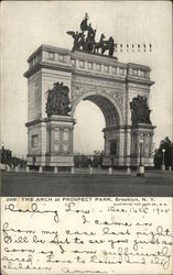 The Arch at Prospect park