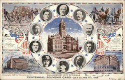 Williamsport City Officials - Williamsport Centennial, July 3rd and 4th, 1906