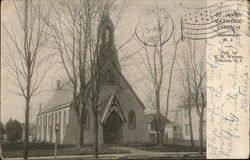 St. James Catholic Church Postcard