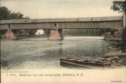 Middleburg River and Carriage Bridge