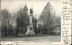 Soldier's Monument & Court House
