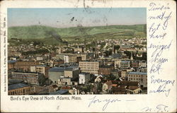 Bird's Eye View of North Adams, Mass.