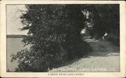 A Drive Near Lake Latoka
