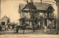 Residence of D. A. Fradenbaugh