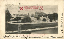 View of Hotel Chamberlain from the Ramparts of Fortress