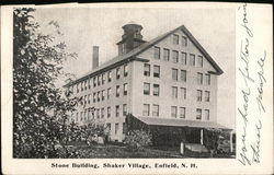 Stone Building, Shaker Village Postcard