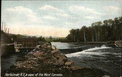 A view of the West Canada Postcard