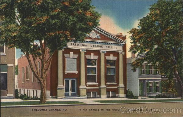Fredonia Grange No. 1 New York
