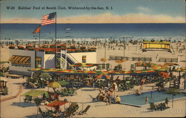 Kiddies' Pool at Beach Club Wildwood-by-the-Sea New Jersey