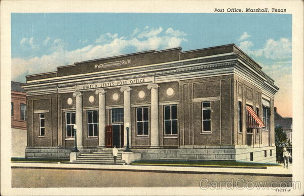 Post Office Marshall Texas