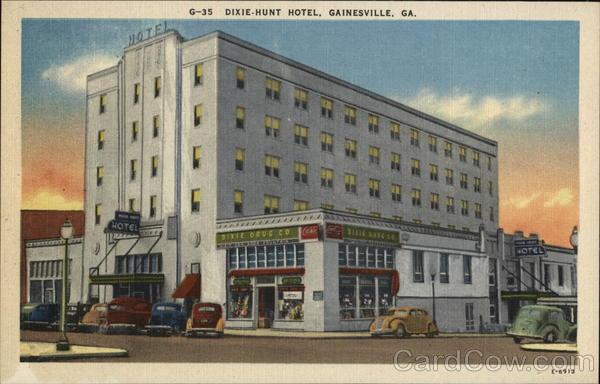 Dixie-Hunt Hotel Gainesville Georgia