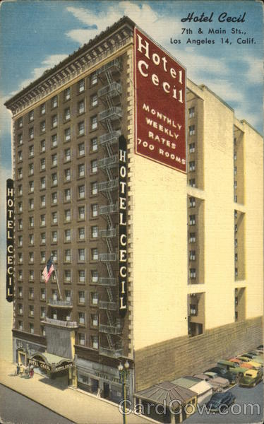 Hotel Cecil, 7th & Main Sts. Los Angeles California