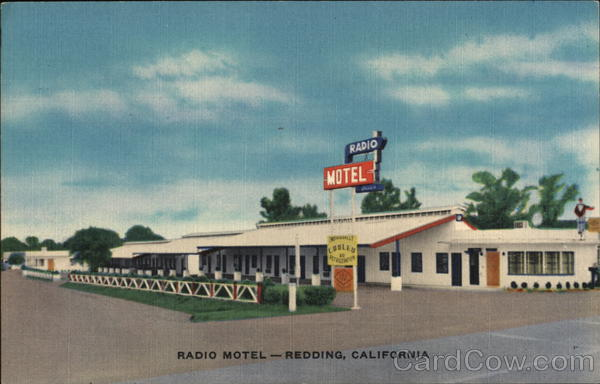 Radio Motel Redding California