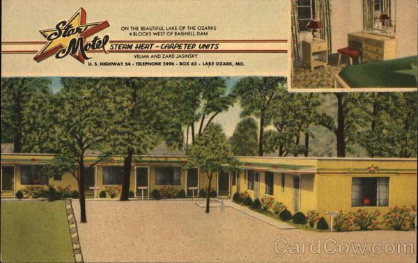 Star Motel Lake Ozark Missouri