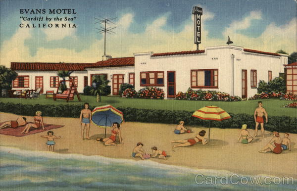 Evans Motel Cardiff by the Sea California
