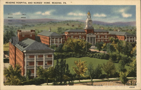 Reading Hospital and Nurses Home Pennsylvania