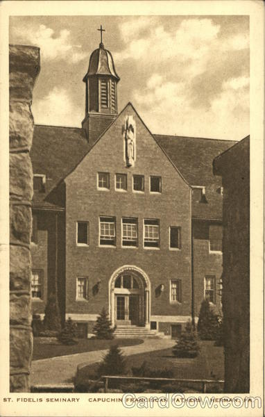 St. Fidelis Seminary, Capuchin Franciscan Fathers Herman Pennsylvania
