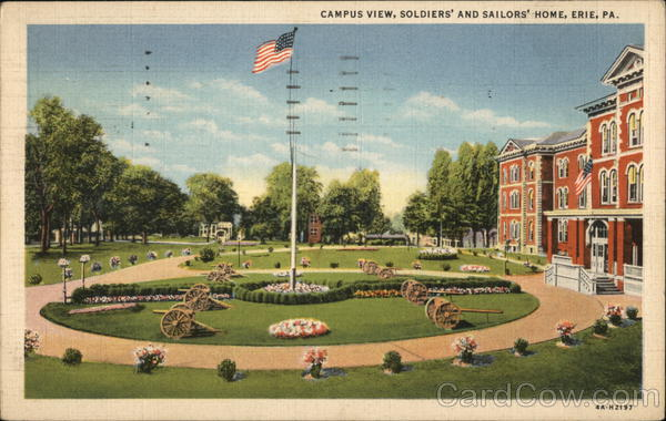 Campus View, Soldiers' and Sailors' Home Erie Pennsylvania