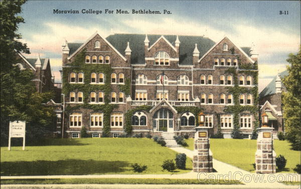 Moravian College for Men Bethlehem Pennsylvania