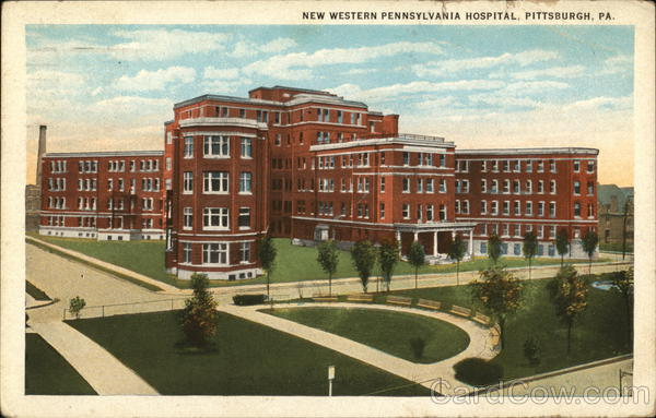 New Western Pennsylvania Hospital Pittsburgh