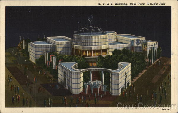 A.T. & T. Building 1939 NY World's Fair