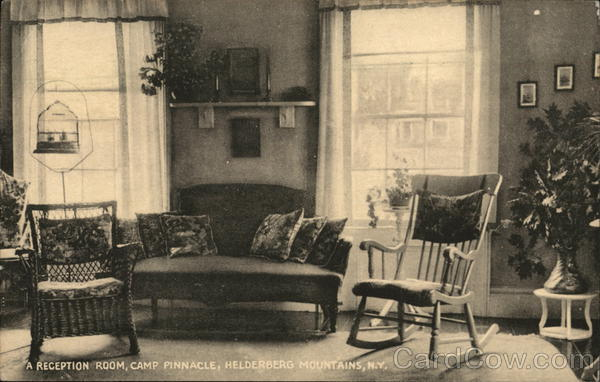 A Reception Room, Camp Pinnacle Helderberg Mountains New York
