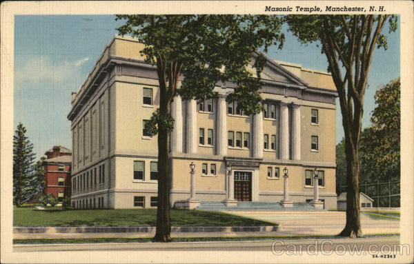 Masonic Temple Manchester New Hampshire