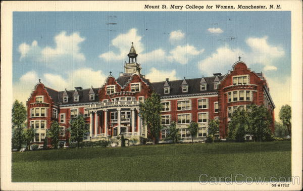 Mount St. Mary College for Women Manchester New Hampshire
