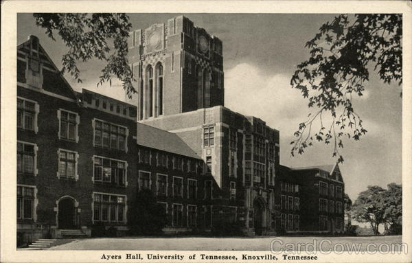 University of Tennessee - Ayers Hall Knoxville Thompson's, Inc.