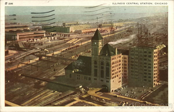 Illinois Central Station Chicago