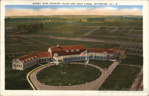 Sunny Side Country Club and Golf Links Waterloo Iowa