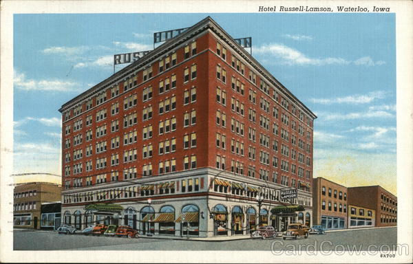 Hotel Russell-Lamson Waterloo Iowa