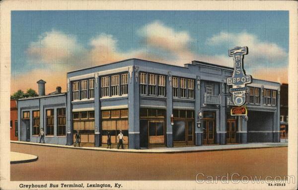 Greyhound Bus Terminal Lexington Kentucky