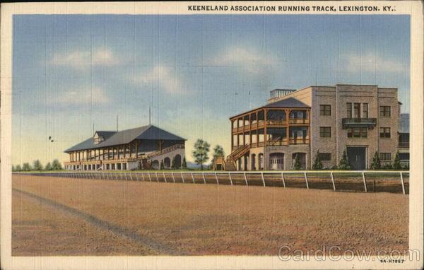 Keeneland Association Running Track Lexington Kentucky