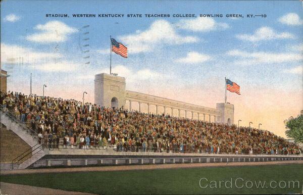 Stadium, Western Kentucky State Teachers College Bowling