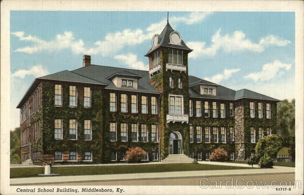Central School Building Middlesboro Kentucky
