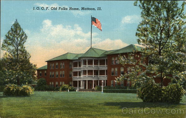 I.O.O.F Old Folks Home Mattoon Illinois