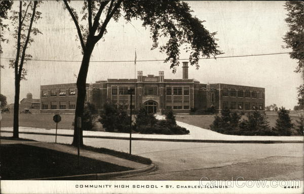 Community High School St. Charles Illinois