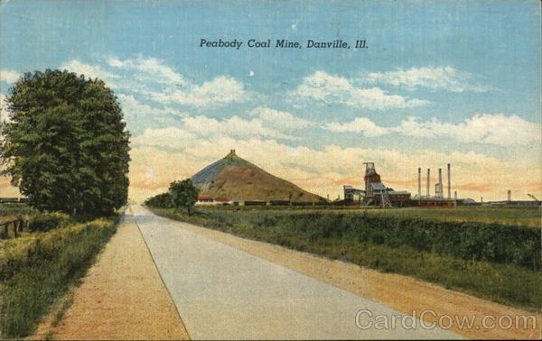 Peabody Coal Mine Danville Illinois