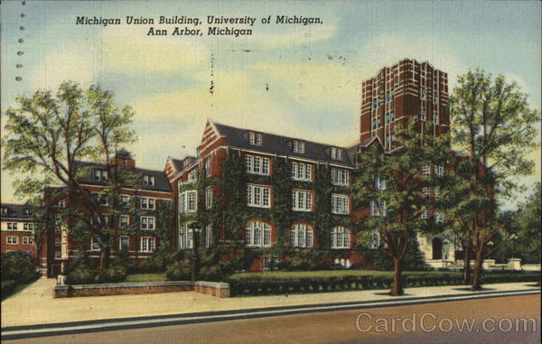 University of Michigan - Michigan Union Building Ann Arbor