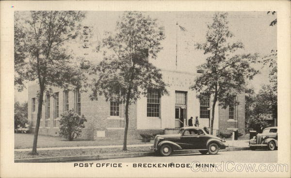 Post Office Breckenridge Minnesota