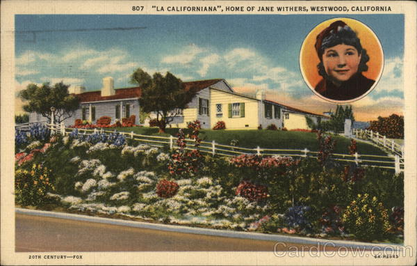 La Californiana, Home of Jane Withers Westwood
