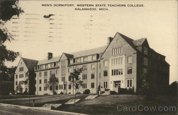 Men's Dormitory, Western State Teachers College Kalamazoo Michigan