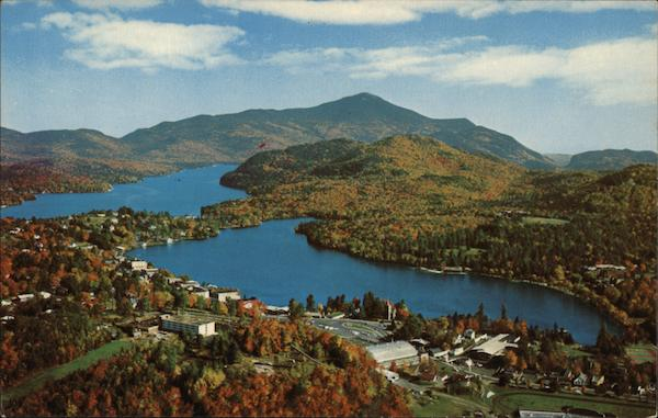 View of Lake Placid New York